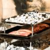 Tapa infiernillo para cocinar a dos fuegos